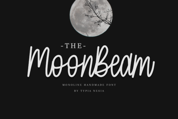 Print on Demand: MoonBeam Script & Handwritten Font By Typia Nesia