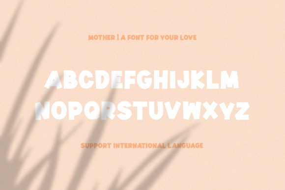 Mother Font By Sameeh Media Image 8