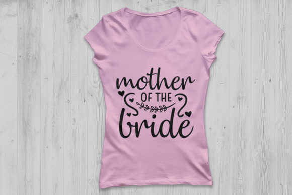 Download Free Mother Of The Bride Svg Graphic By Cosmosfineart Creative Fabrica for Cricut Explore, Silhouette and other cutting machines.
