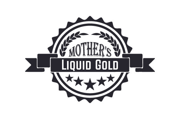 Mother's Liquid Gold Craft Design By Creative Fabrica Crafts