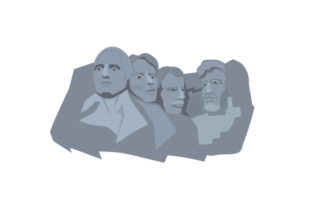 Mount Rushmore Craft Design By Creative Fabrica Crafts