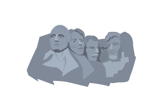 Mount Rushmore Travel Craft Cut File By Creative Fabrica Crafts - Image 1