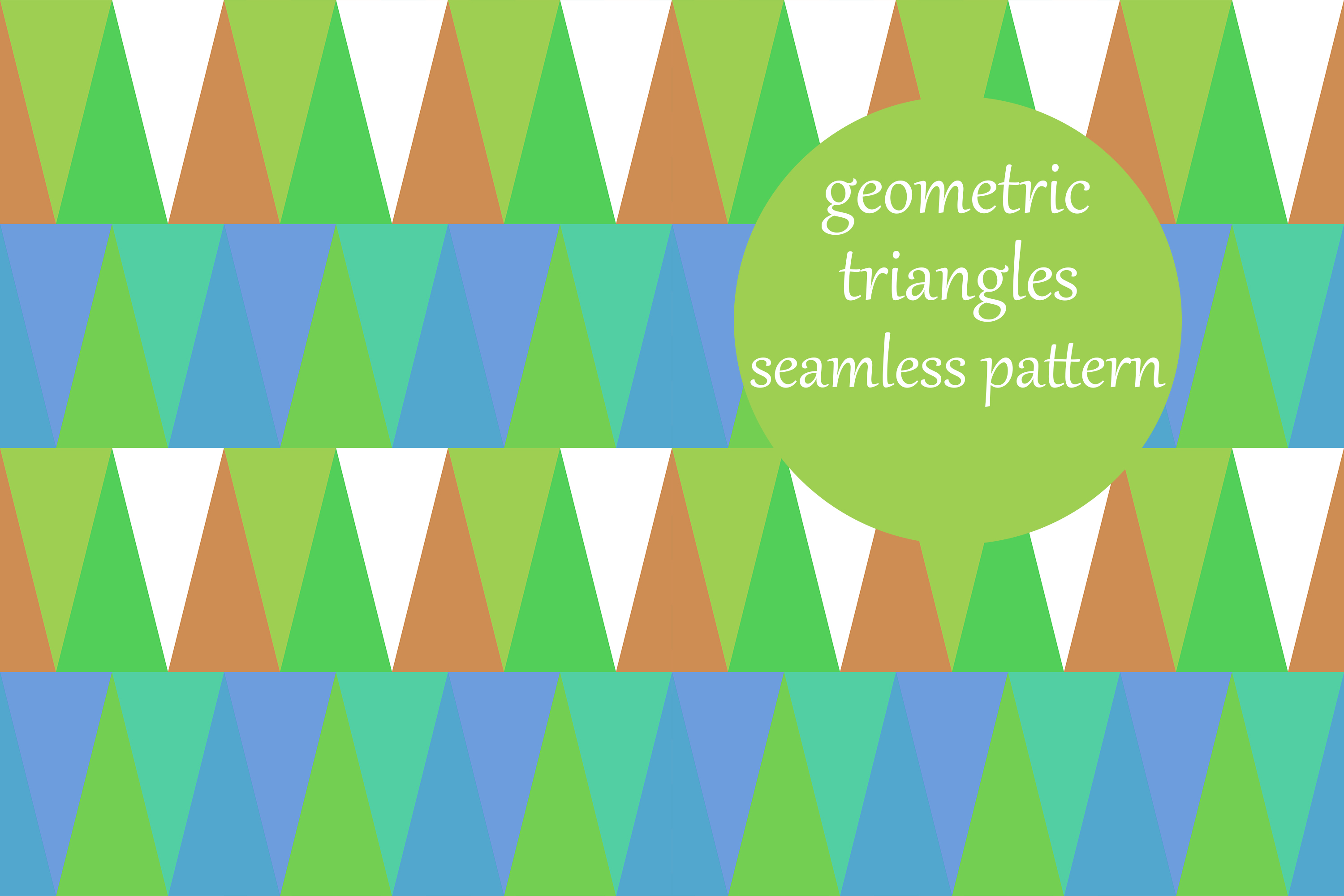 Download Free Multicolored Geometric Triangles Pattern Graphic By for Cricut Explore, Silhouette and other cutting machines.