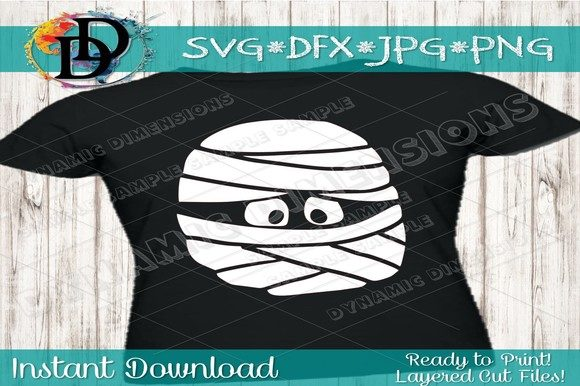 Download Free Mummy Svg Mummy Cut File Mummy Face Graphic By for Cricut Explore, Silhouette and other cutting machines.
