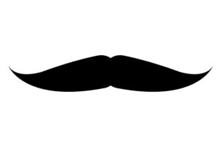 Download Free Mustache Icon Graphic By Marco Livolsi2014 Creative Fabrica for Cricut Explore, Silhouette and other cutting machines.