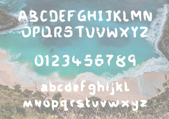 Print on Demand: My Beach Shack Script & Handwritten Font By GraphicsBam Fonts - Image 2