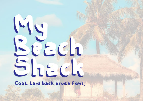 Print on Demand: My Beach Shack Script & Handwritten Font By GraphicsBam Fonts - Image 1