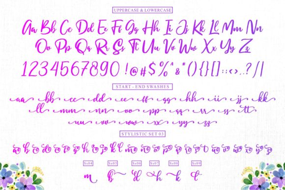Print on Demand: My Homely Script & Handwritten Font By goodjavastudio - Image 5