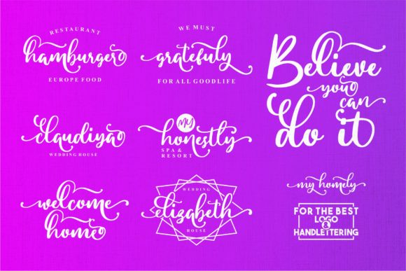 Print on Demand: My Homely Script & Handwritten Font By goodjavastudio - Image 6