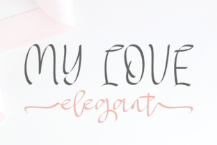 My Love Font By halimantoni103