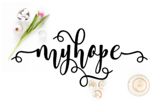 Myhope Font By halimantoni103