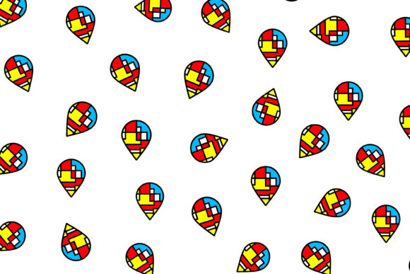 Print on Demand: Navigation Pattern Graphic Patterns By noory.shopper