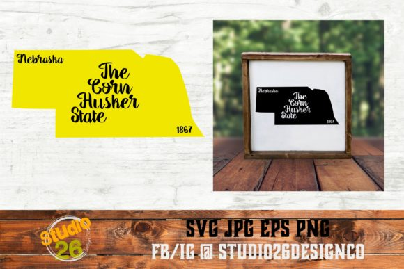 Download Free Nebraska State Nickname Svg Png Eps Graphic By Studio 26 for Cricut Explore, Silhouette and other cutting machines.