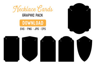 Necklace Card Clipart Graphic Bundle Graphic By The Gradient Fox