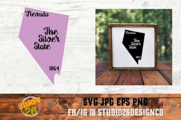 Download Free Nevada State Nickname Svg Png Eps Graphic By Studio 26 for Cricut Explore, Silhouette and other cutting machines.
