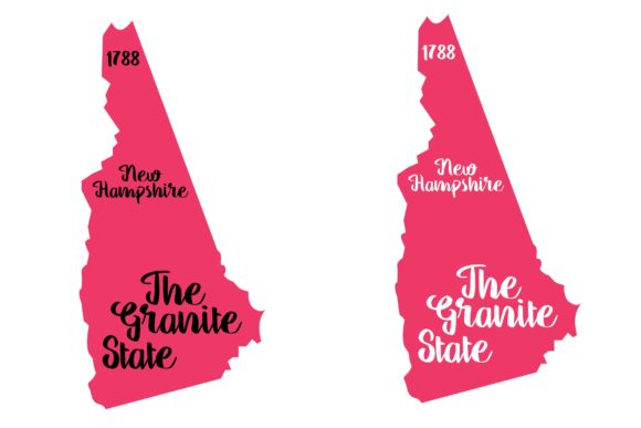 Download Free New Hampshire State Nickname Svg Graphic By Studio 26 Design for Cricut Explore, Silhouette and other cutting machines.