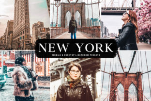 Download Free New York Lightroom Presets Pack Graphic By Creative Tacos for Cricut Explore, Silhouette and other cutting machines.