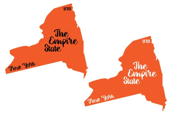 Download Free New York State Nickname Graphic By Studio 26 Design Co for Cricut Explore, Silhouette and other cutting machines.