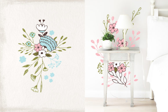 Nice Flowers Graphic Illustrations By webvilla - Image 2