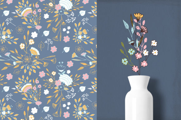 Nice Flowers Graphic Illustrations By webvilla - Image 3