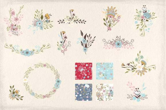 Nice Flowers Graphic Illustrations By webvilla - Image 4