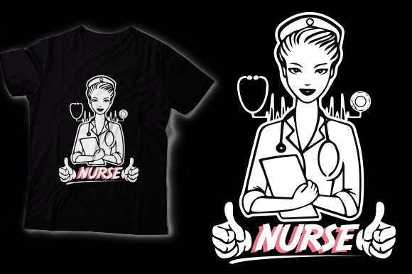 Nurse Graphic Crafts By HASSHOO