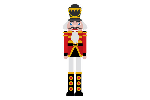 Nutcracker Christmas Craft Cut File By Creative Fabrica Crafts