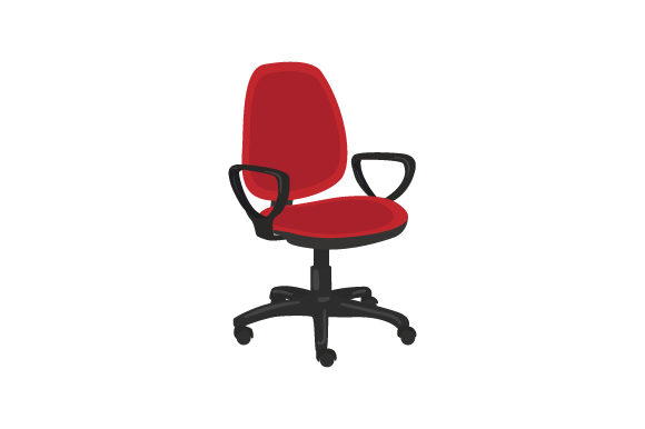 Office Chair Work Craft Cut File By Creative Fabrica Crafts
