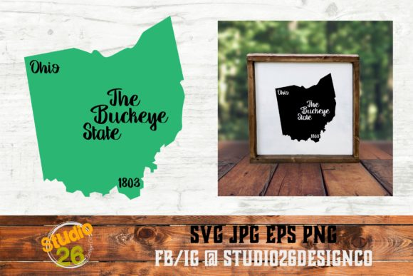 Ohio State Nickname Svg Png Eps Graphic By Studio 26 Design
