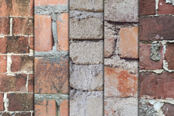 Old Brick Wall Vol 3 X10 Graphic Textures By SmartDesigns - Image 2