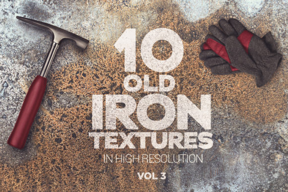 Old Iron Textures Vol 3 Graphic Textures By SmartDesigns