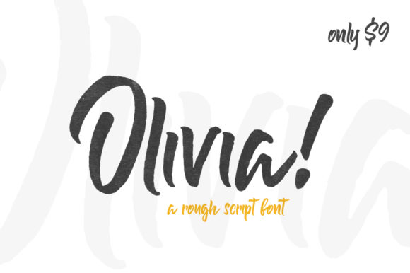 Print on Demand: Olivia Display Font By Salt & Pepper Designs