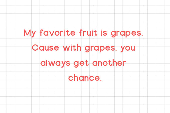 Print on Demand: Open Grapes Sans Serif Font By AmruID - Image 2