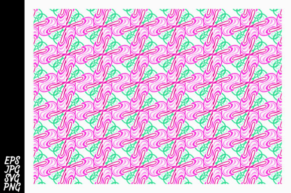 Print on Demand: Ornament Pattern SVG Graphic Crafts By Arief Sapta Adjie II