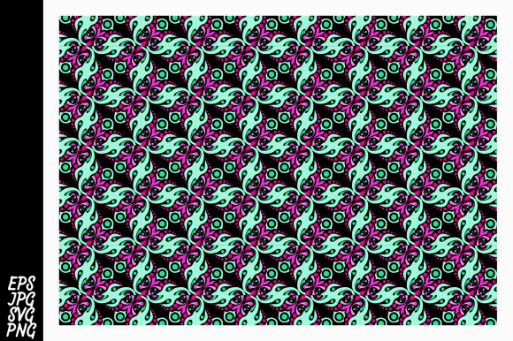 Print on Demand: Ornament Pattern SVG Graphic Crafts By Arief Sapta Adjie II - Image 1