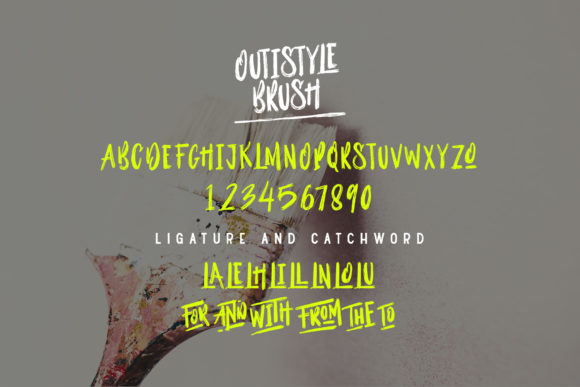 Outistyle Display Font By Dikas Studio
