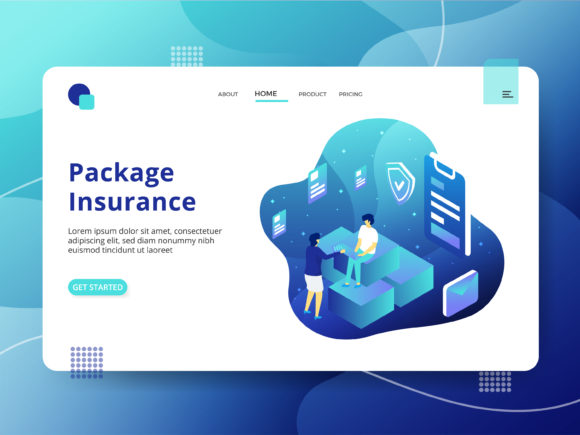 Package Insurance Graphic Illustrations By Twiri