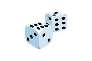 Pair of Dice Craft Design By Creative Fabrica Crafts