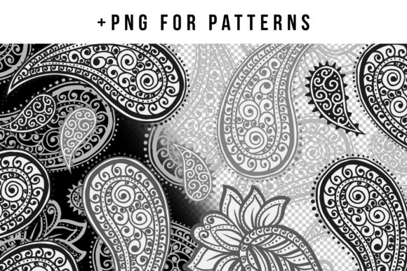Paisley Patterns Collection Graphic Patterns By ilonitta.r - Image 5