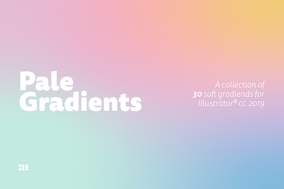 Pale Gradients Graphic By unio.creativesolutions
