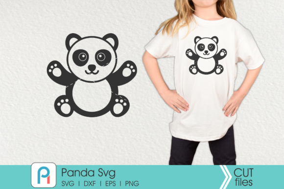 Panda Graphic Crafts By Pinoyartkreatib