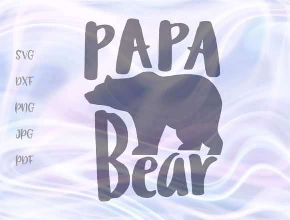 Download Free Papa Bear Family Svg Graphic By Digitals By Hanna Creative Fabrica for Cricut Explore, Silhouette and other cutting machines.