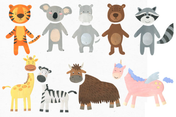 Papercut Animals Clipart Graphic Illustrations By Ukulikki - Image 5