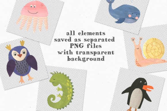 Papercut Animals Clipart Graphic Illustrations By Ukulikki - Image 7