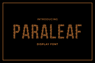 Paraleaf Font By MENK Studio