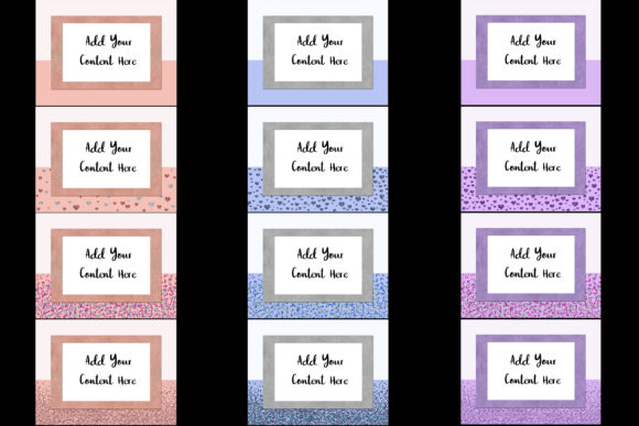 Print on Demand: Pastel Leather Frame Mockups Graphic Product Mockups By SapphireXDesigns - Image 2