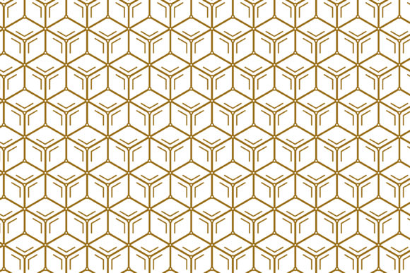 Print on Demand: Pattern Electrical Concept Gold White Graphic Patterns By noory.shopper