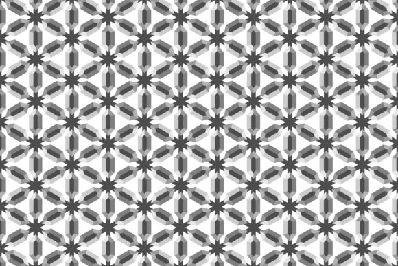 Print on Demand: Pattern of Diamond Shaped Grey Graphic Patterns By noory.shopper