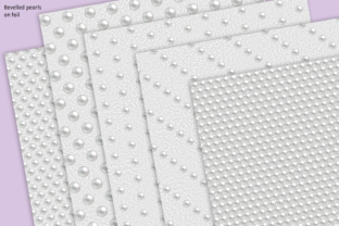 Print on Demand: Pearl Beaded Foils Graphic Textures By JulieCampbellDesigns 3
