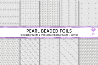 Pearl Beaded Foils Graphic By JulieCampbellDesigns